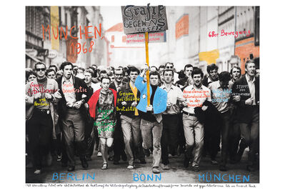 Marcelo Brodsky, 'From the series 1968: The fire of Ideas, Munchen, 1968', 2014-2019