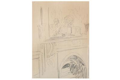 Walter Richard Sickert, 'Interior at Rowlandson House'