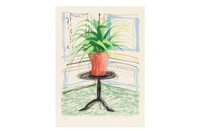 David Hockney, 'Untitled No.468, from A Bigger Book: Art Edition C', 2010