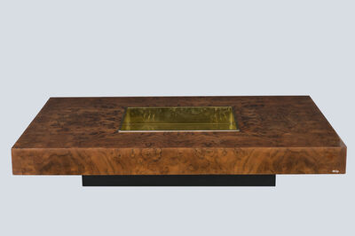 """Willy Rizzo, '""""TRV"""" table', ca. 1970"""