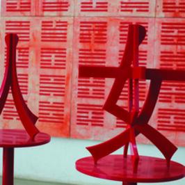 Huang Rui, 'Woman - Red', 2006