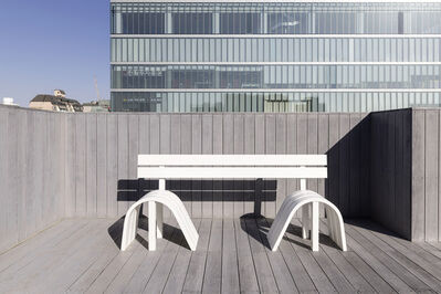 Jeppe Hein, 'Modified Social Bench #13', 2012