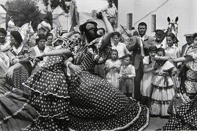 Inge Morath, 'Dancers, Romeria del Rocio', 1955