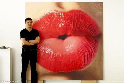 Hubert de Lartigue, 'Big Kiss', 2014