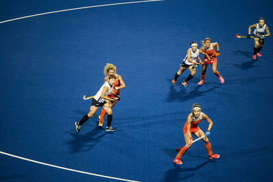 David Burnett, 'Women's Field Hockey, Beijing Olympics', 2008
