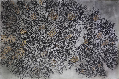 G.R. Iranna, 'Burnt Branches', 2017