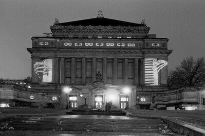 Krzysztof Wodiczko, 'Allegheny County Memorial Hall, Pittsburgh', 1986-2010