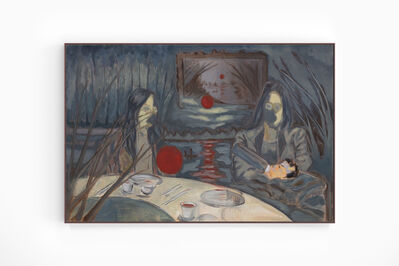 Henry Shum, 'Women and Child at Dinner Table', 2017