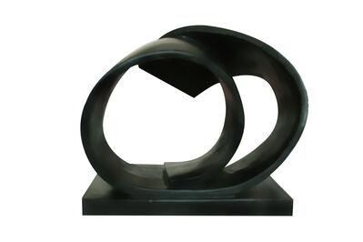 Salwa Zeidan, 'Black Spiral Series 10', 2010