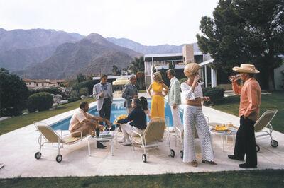 Slim Aarons, 'Poolside Social', 1970