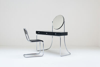 Mart Stam, '1931 Mart Stam modernist Dressing table for Fritz Hansen', 1931