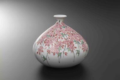 Obata Yuji, 'SHIDARE SAKURA Cone Shape Vase', 2019