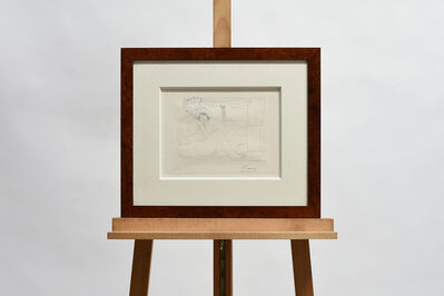 Pablo Picasso, 'Le repous du sculpteur devant le petit torse', 1956