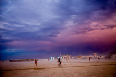 Tao Ruspoli, 'Sunset (Burning Man), 21st Century, Landscape Photography, Contemporary, Color', 2017