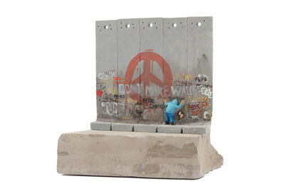 Banksy, 'Walled Off Hotel - Five Part Souvenir Wall Section'