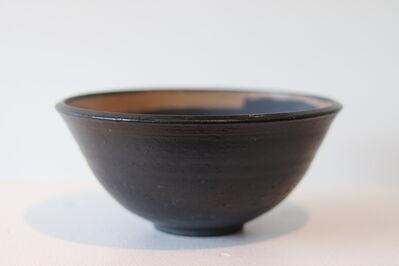 Toshiko Takaezu, 'Blue Iridescent Bowl', ca. 1952