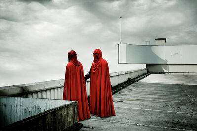 Cédric Delsaux, 'Red Guards, Paris', 2005