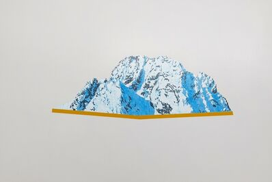David Pirrie, 'Still Life With Mtn, Mt Moran Mid Winter', 2018