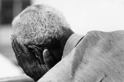 Chester Higgins, Jr., 'Spencer Jones in prayer at Springfield Baptist Church, New Brockton, Alabama', 1973