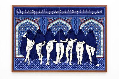 Dana Widawski, 'Wrapped Women Dance', 2017