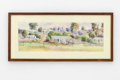 Durant Sihlali, 'Mount Frere townscape', 1976