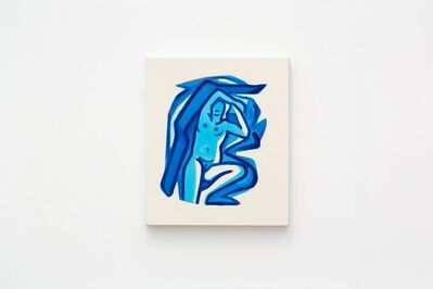 Tom Wesselmann, 'Study for Blue Nude #19 (3-D)', 2001