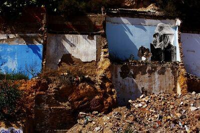JR, 'Los Surcos de la Ciudad, Julian Jesus Gimenez Fernandez, Cartagena, Espagne', 2008
