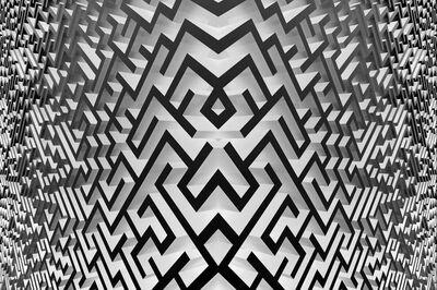 Xu Qu, 'Maze (relative), black and white, 2016', 2016