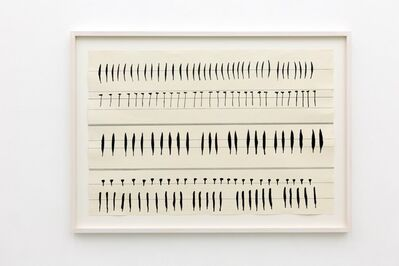 Carola Dertnig, 'Singing Nails X', 2019