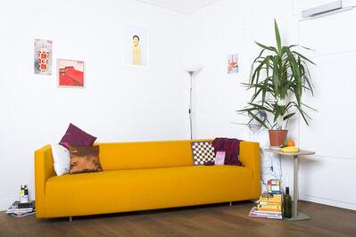 Benjamin Li, 'Te Koop (For Sale) Orange design couch', 2014