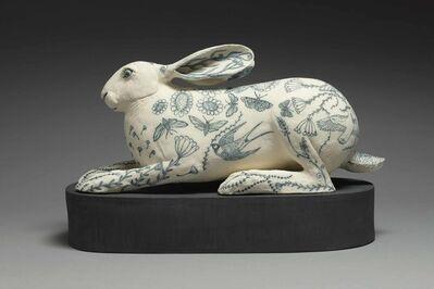 Georgina Warne, 'Crouching Hare', 2019