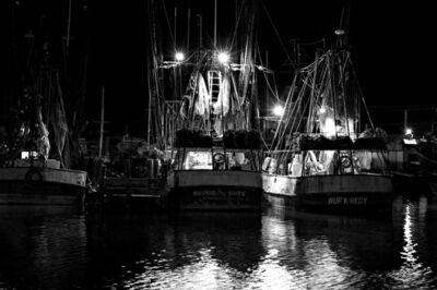Lou Vest, 'Shrimp Boats RufnRedy', ca. 2017