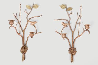 Claude Lalanne, 'Appliques à deux bougies', 2018