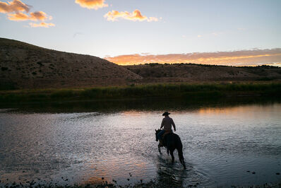 Jim Krantz, 'Epic Western No. 37', 2020