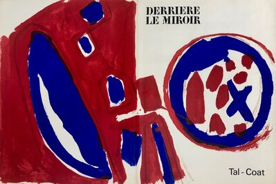 Pierre Tal-Coat, 'Lithographe, Cover', 1962