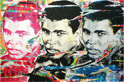 Mr. Brainwash, 'Muhammad Ali – The Champ', 2010