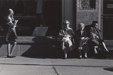 Ed Sievers, 'Untitled (sidewalk scene)', c. 1960's