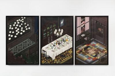 Luke Painter, 'Garden, Table, and Moth Room', 2019