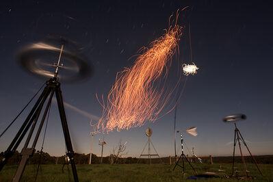 Cameron Robbins, 'Anemograph Instrumental Hepburn Wind Farm', 2018