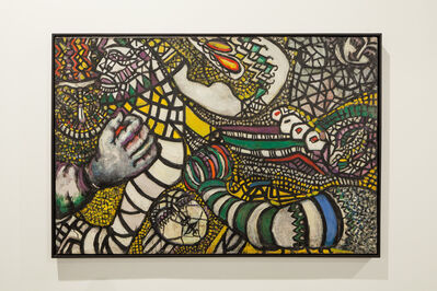 Fahrelnissa Zeid, 'Struggle Against the Abstract', 1947
