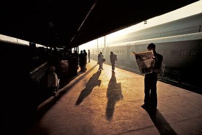 Steve McCurry, 'Train Platform at Old Delhi, India', 1983