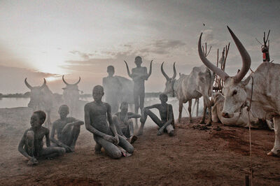 Jimmy Nelson, 'XXV 4 Mundari, Mayong, South Sudan, Africa', 2016