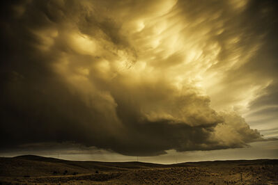 Eric Meola, 'Mammatus Clouds. Sand Hills, Nebraska', 2013