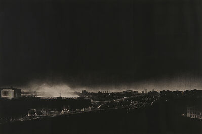 Craig McPherson, 'Yankee Stadium at Night', 1983