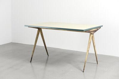 """Jean Prouvé, 'Cafétéria n°512 table, a.k.a """"Compas"""" table', 1953"""