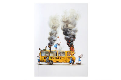 Ernest Zacharevic, 'Rage Against The Machine', 2018