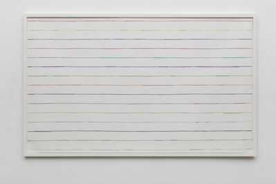 Vik Muniz, 'Handmade: colored lines', 2016