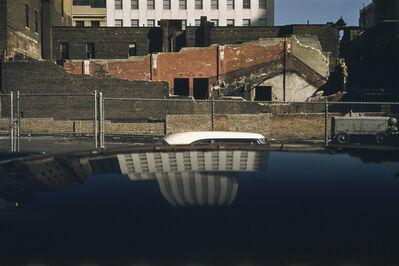 Werner Bischof, 'Reflecting house, New York, USA', 1953