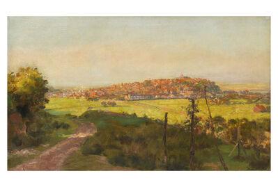 Bernard Sickert, N.E.A.C., 'Rye from Cadlorough'