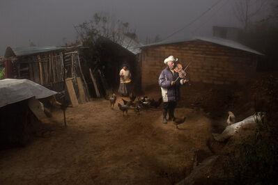 Shandor Barcs, 'Family from the Mist I', 2014